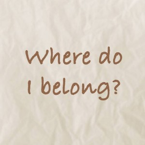 where do you belong essay