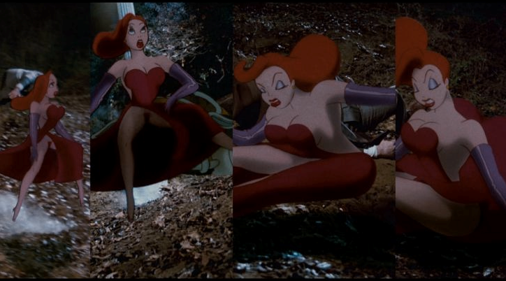 Jessica Rabbit Flashing Her Privates in Who Framed Roger Rabbit