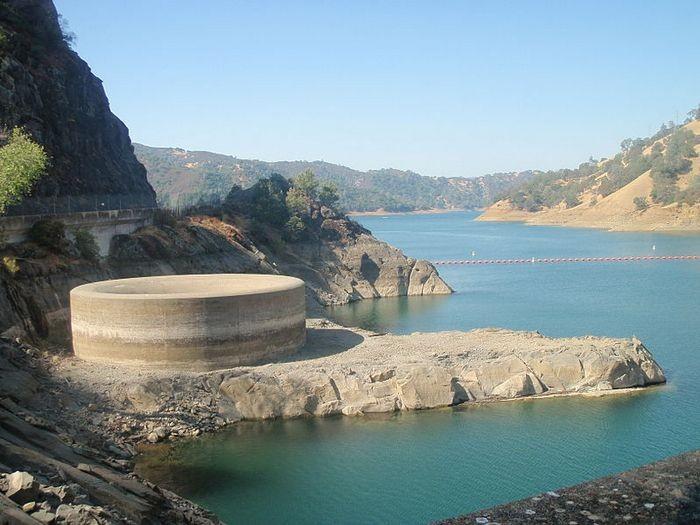 Monticello Dam Drain Hole