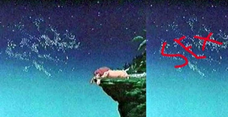 The Word Sex Spelled in the Lion King